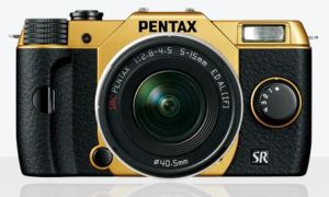 "A camera universally described as ""fun"": the tiny Pentax Q10."