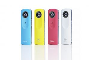 Not made in California: the Ricoh Theta.